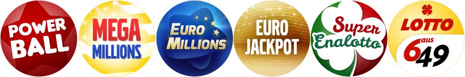 Världens lotterier